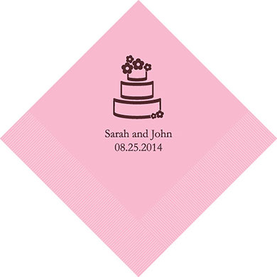 personalized wedding napkins custom wedding supplies napkins online